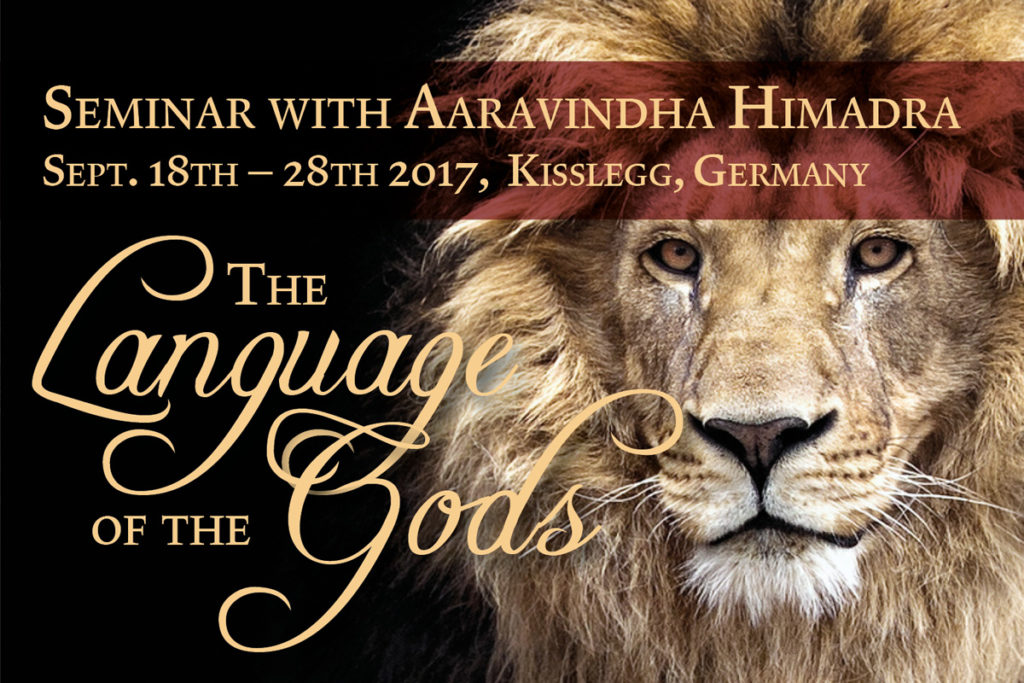 The Language Of Gods Seminar With Aaravindha In Germany Surahparampara